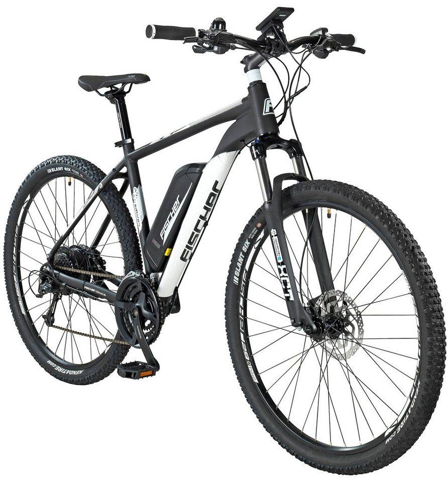 fischer fahrraeder e bike mountainbike em1724 by joey kelly 73 66 cm 29 zoll 24 g nge 422. Black Bedroom Furniture Sets. Home Design Ideas