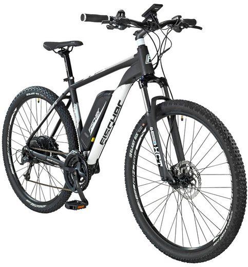 FISCHER FAHRRAEDER E-Bike Mountainbike »EM1724 by Joey Kelly«, 73,66 cm (29 Zoll), 24 Gänge, 422 Wh