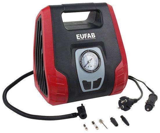 EUFAB Kompressor , 12/230 V, inkl. Adapter