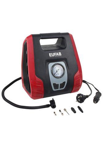EUFAB Kompresorius 12/230 V ir adapteris