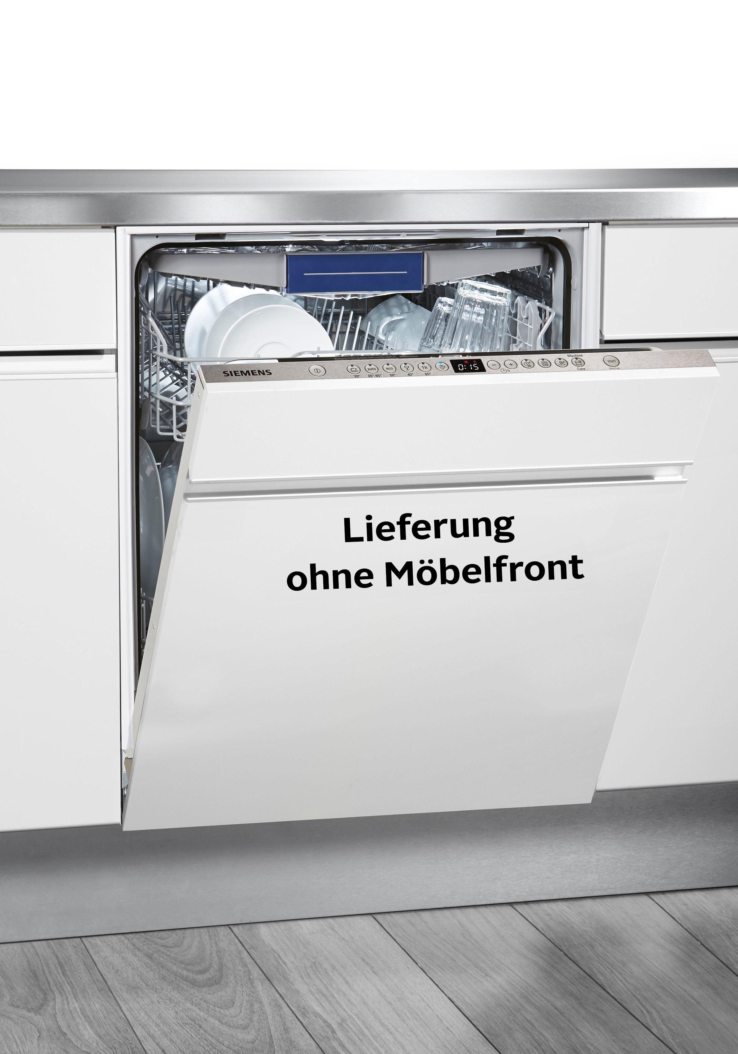 Siemens SN636X01KE Vollintegrierbarer Einbaugeschirrspüler