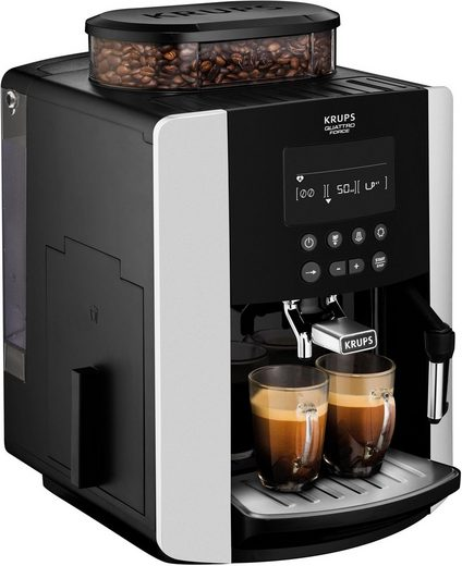Krups Kaffeevollautomat EA8178 Arabica Display Quattro Force