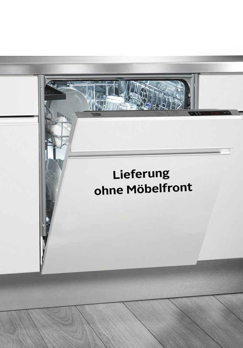 BEKO vollintegrierbarer Geschirrspüler DO55420, DVO55420W4Y, 14 Maßgedecke, Schnell + Sauber-Programm