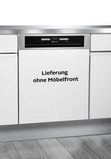 BAUKNECHT teilintegrierbarer Geschirrspüler, OBBO Super Eco X, 9,5 l, 14 Maßgedecke