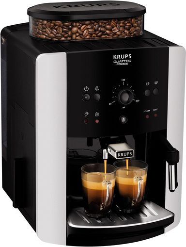 Krups Kaffeevollautomat EA8118 Arabica Quattro Force