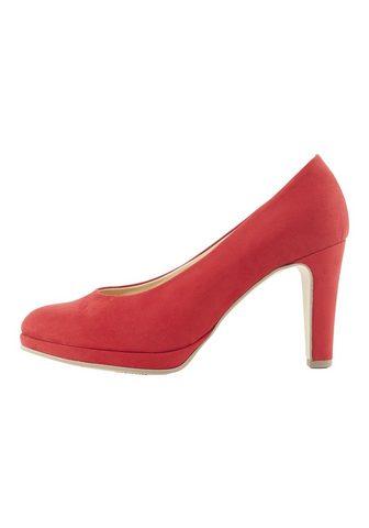 Туфли с узкий Plateau