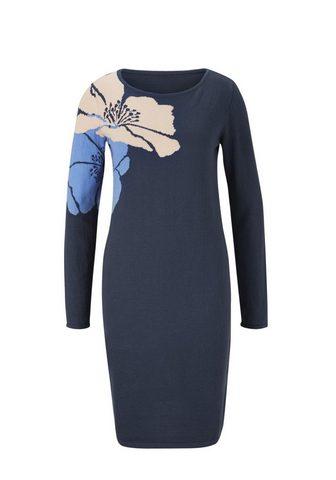 ASHLEY BROOKE BY HEINE Megzta suknelė su gėlėtas raštas