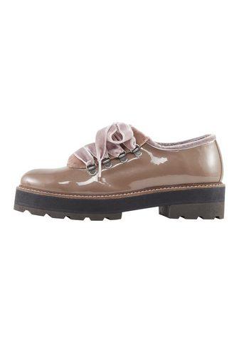 HEINE Туфли на шнуровке с Samt-Details