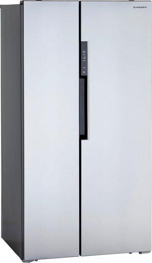 Schneider Side-by-Side SBS612.4A++CSS, 178 cm hoch, 91,1 cm breit