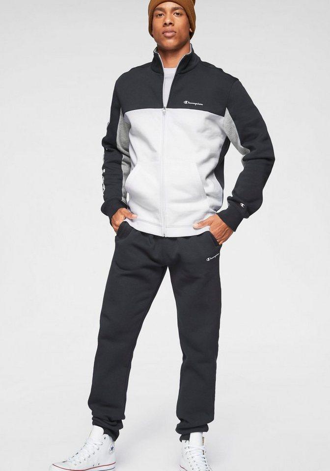 champion jogginganzug full zip sweatsuit set 2 tlg. Black Bedroom Furniture Sets. Home Design Ideas