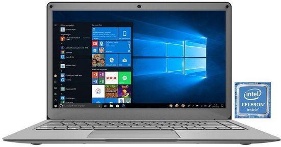 TrekStor SurfBook A13-CO Notebook (33,8 cm/13,3 Zoll, Intel Celeron, 64 GB HDD, 64 GB SSD, Office 365 Personal (1-Jahres-Abonnement), Full HD-IPS-Display)
