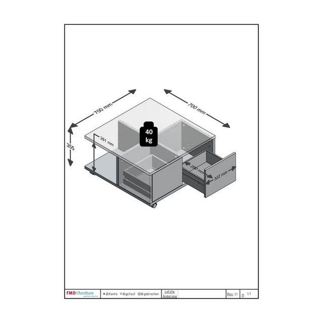 Wohnzimmertische - FMD Couchtisch  - Onlineshop OTTO