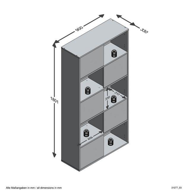 Küchenregale - FMD Mehrzweckregal »Futura 2«  - Onlineshop OTTO