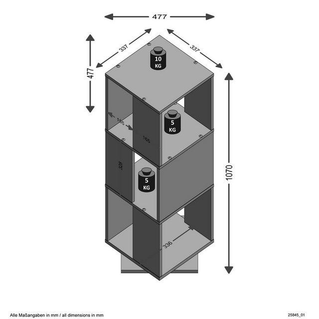 Schränke und Regale - FMD Aktenregal »Tower«  - Onlineshop OTTO