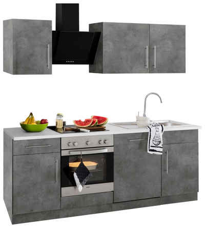 Küchenzeile mit Geräten kaufen » Küchenblöcke   OTTO