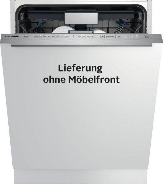 Küchengroßgeräte - Grundig integrierbarer Geschirrspüler, GNV 44835, 9,9 l, 15 Maßgedecke  - Onlineshop OTTO