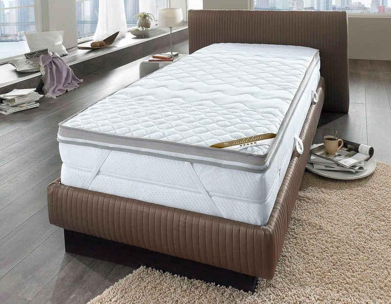 Topper »Softly XXL Plus«, fan Schlafkomfort Exklusiv, 7 cm hoch, Raumgewicht: 35, Kaltschaum, Kundenliebling, über 1000 positive Bewertungen