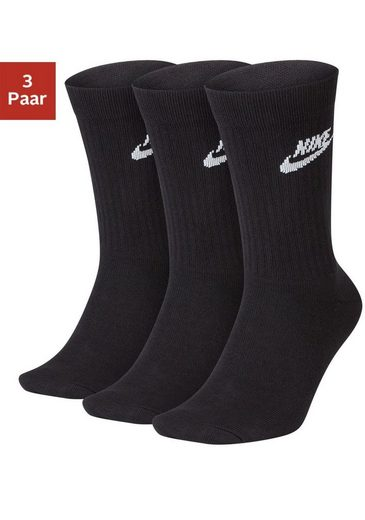 Nike Tennissocken (3-Paar) mit strukturiertem Mittelfußbereich
