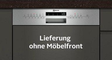 NEFF teilintegrierbarer Geschirrspüler Serie 4, GI4601MN / S413M60S1E, 6,5 l, 13 Maßgedecke