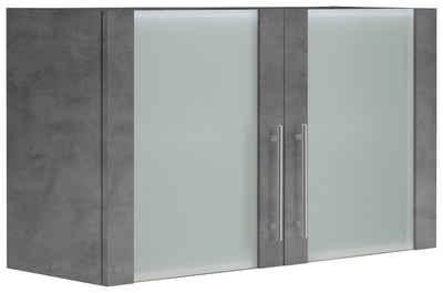 wiho Küchen Glashängeschrank »Cali« Front mit Glaseinsatz