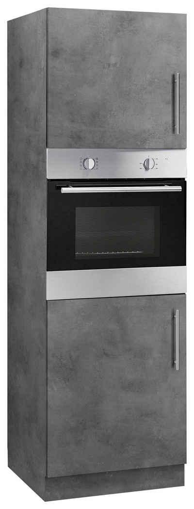 wiho Küchen Backofenumbauschrank »Cali« 60 cm breit