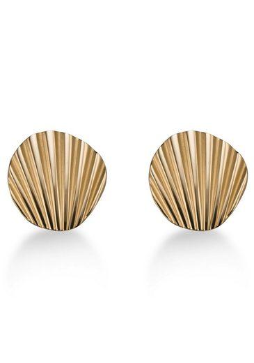 ROSEFIELD Paar Ohrstecker »Shell stud earrings gold, JSSEG-J167«