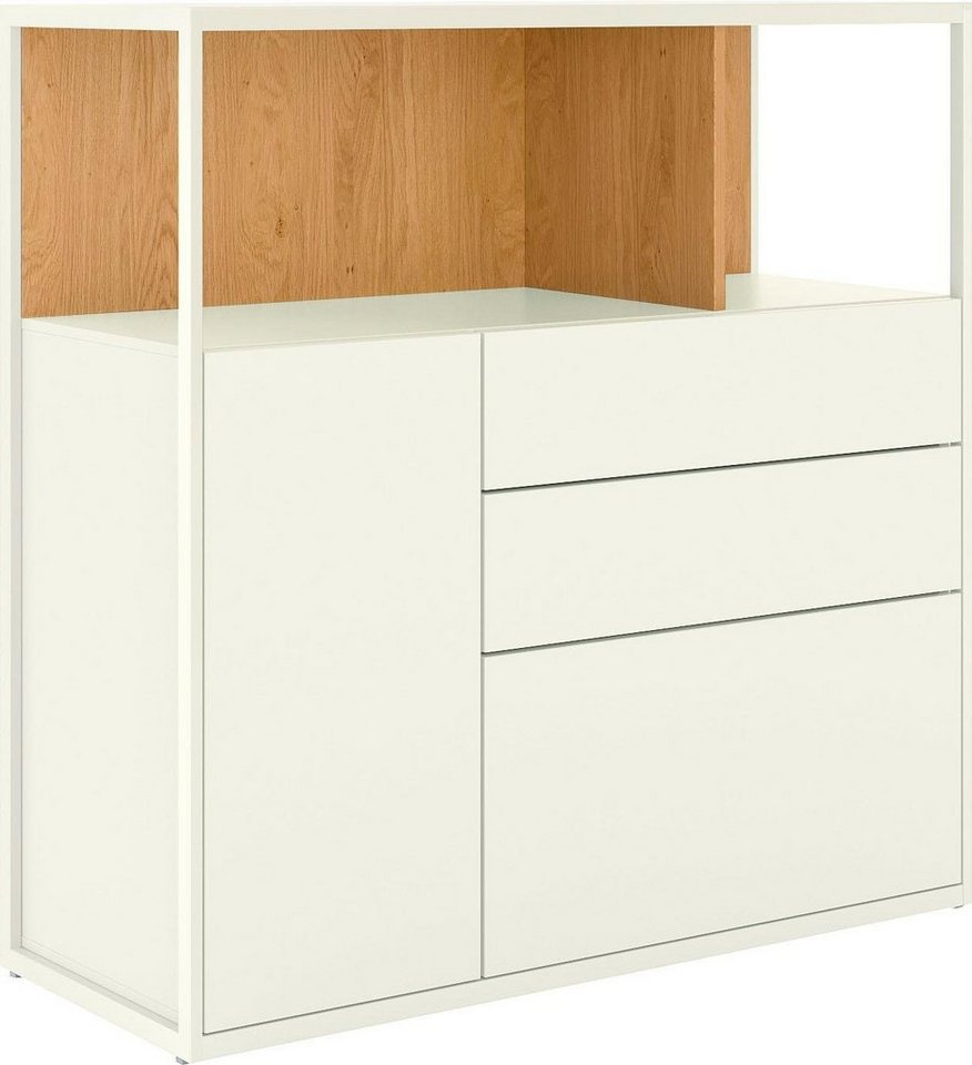 Fabulous now! by hülsta Highboard »now! vision«, Breite 108, 7 cm, mit 1 YW92