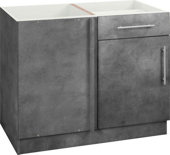 wiho Küchen Eckunterschrank »Cali« 110 cm breit, ohne Arbeitsplatte