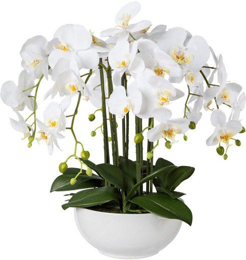 Kunstpflanze Orchidee, Creativ green, Höhe 54 cm