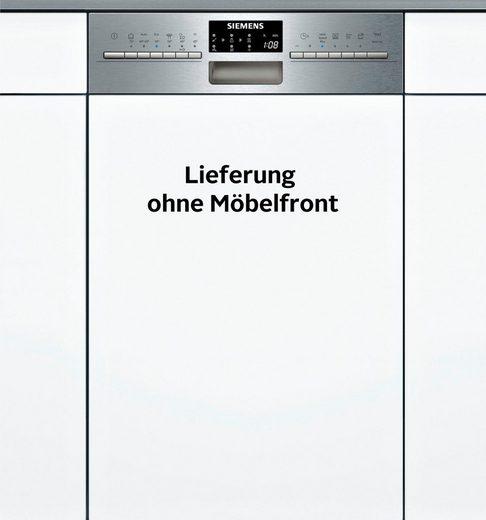 SIEMENS teilintegrierbarer Geschirrspüler, SR556S00PE, 0,85 l, 9 Maßgedecke