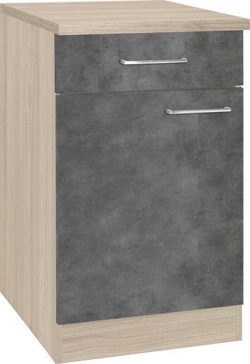 wiho Küchen Unterschrank »Zell« Breite 50 cm