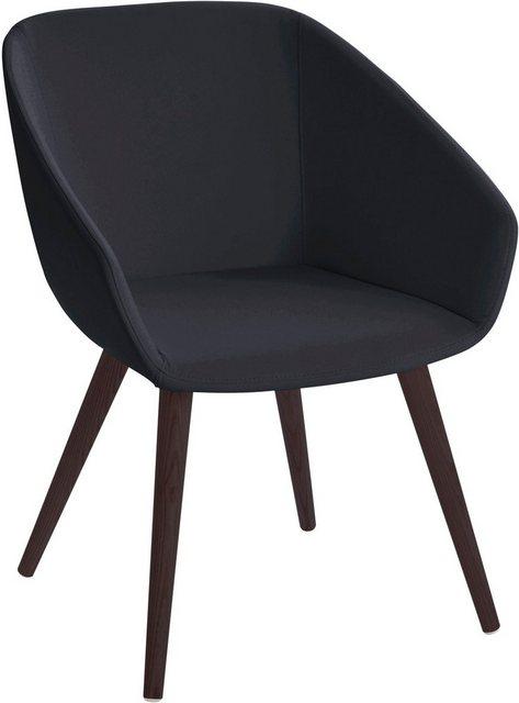 Stühle und Bänke - andas Stuhl »Madison« mit massiven Holzbeinen  - Onlineshop OTTO