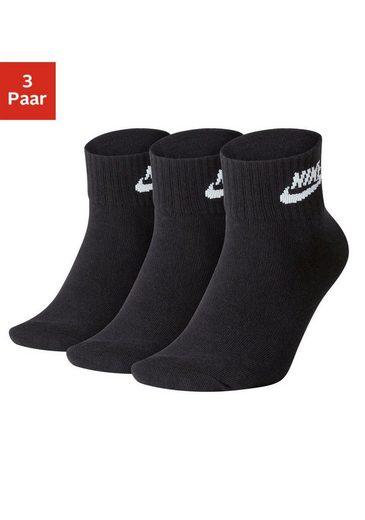 Nike Tennissocken (3 Paar) in Kurzform