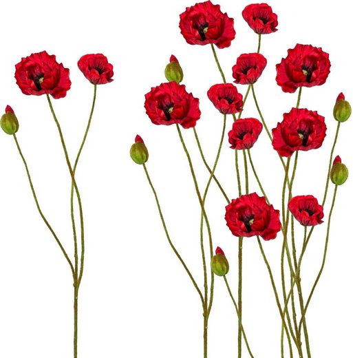 Kunstblume, Höhe 76 cm (6er Set)