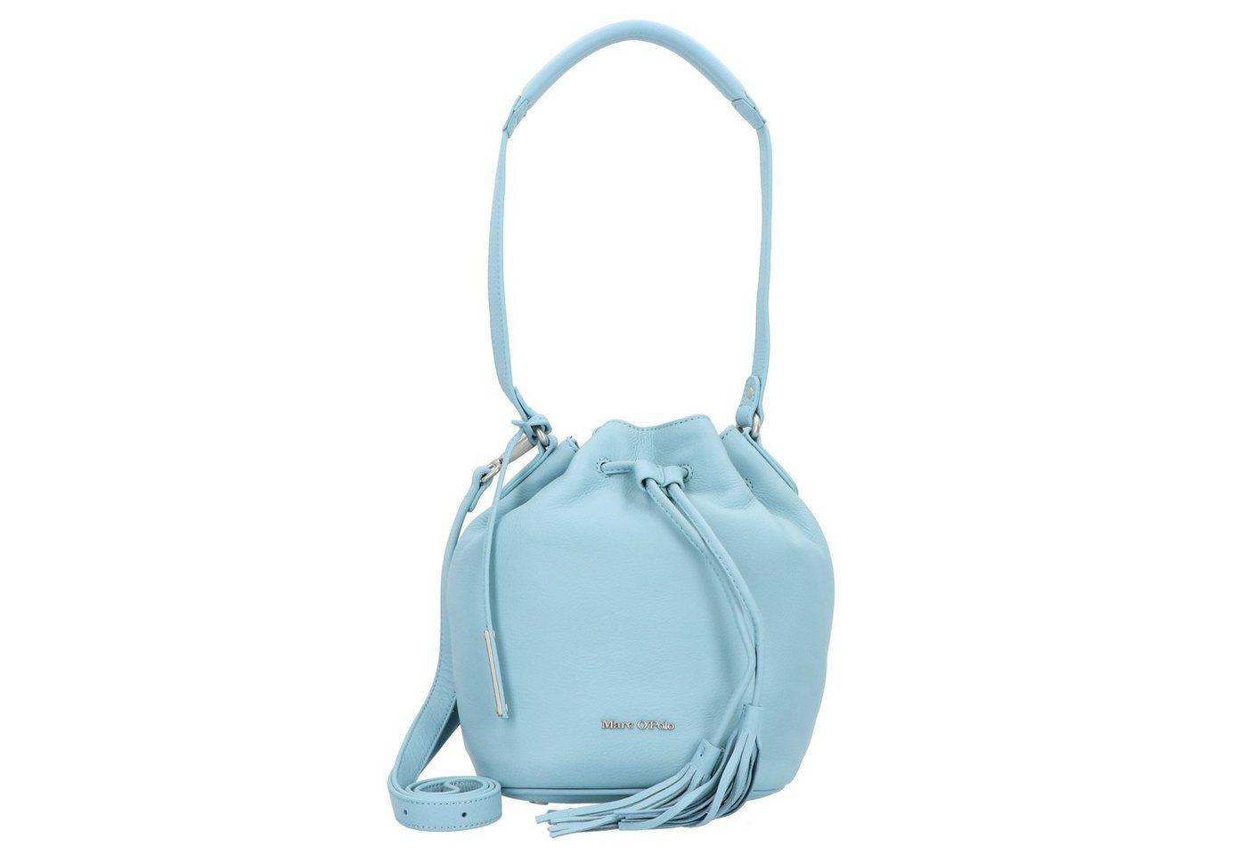 Marc O´Polo Billa Beuteltasche Leder 19 cm | Taschen > Handtaschen > Beuteltaschen | Blau | Marc O´Polo