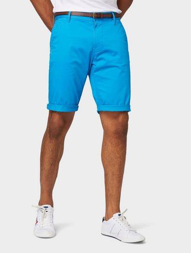 TOM TAILOR Shorts »Josh Regular Slim Bermuda«