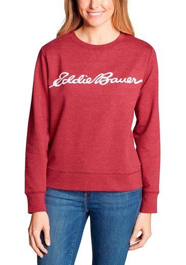 Eddie Bauer Sweatshirt Camp Fleece Logo Sweatshirt