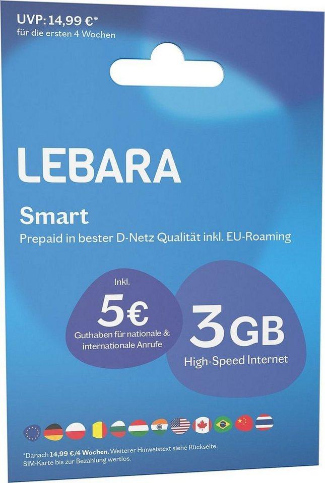 Prepaid Karte Ps4.Lebara Prepaid Karte Prepaid Smart Online Kaufen Otto
