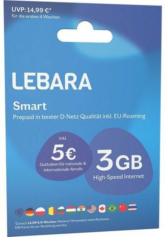 LEBARA Prepaid plokštė »Prepaid Smart«