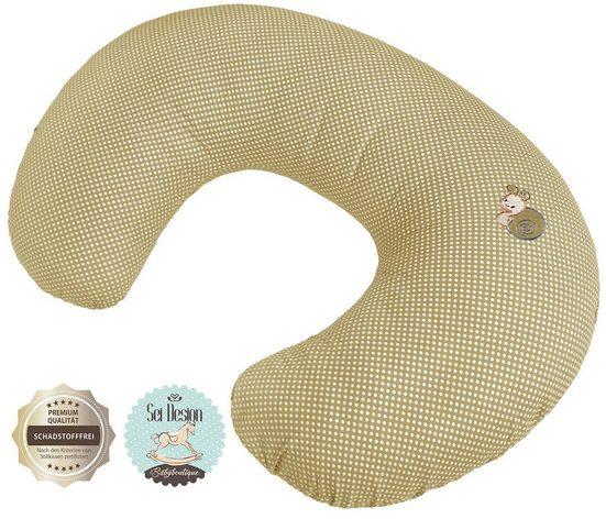 SEI Design Stillkissen »Schnecke«, mit Reißverschluss