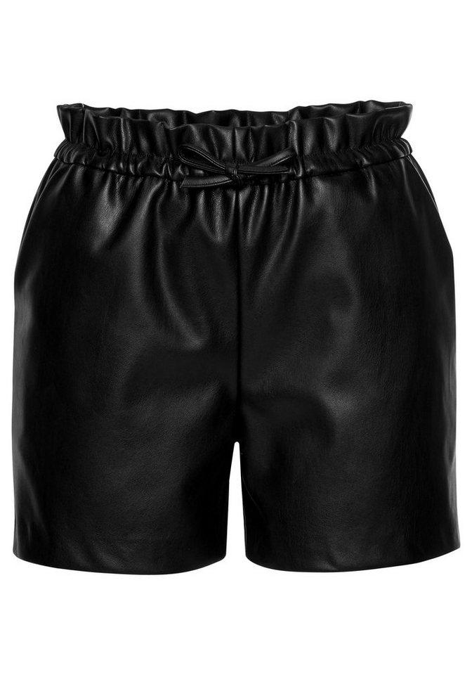 laura scott shorts aus lederimitat online kaufen otto. Black Bedroom Furniture Sets. Home Design Ideas