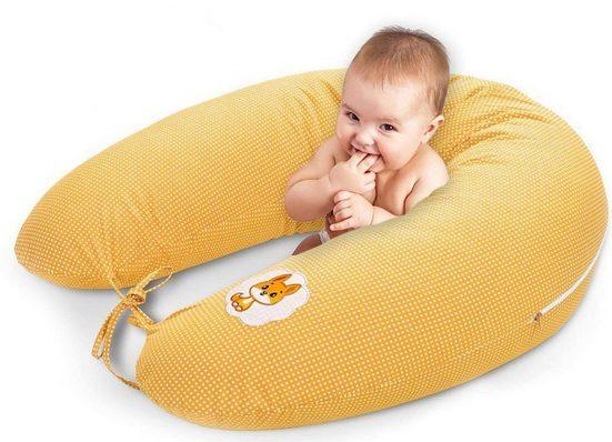 SEI Design Stillkissen »Fuchs orange«, mit hochwertiger Stickerei
