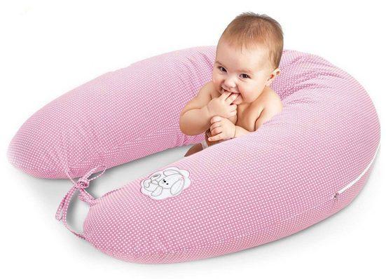 SEI Design Stillkissen »Häschen rosa EPS«, mit hochwertiger Stickerei