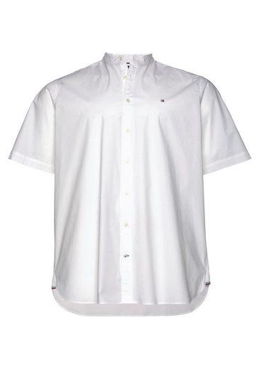 Tommy Hilfiger Big & Tall Kurzarmhemd »Big & Tall Stretch Mandarin Shirt«