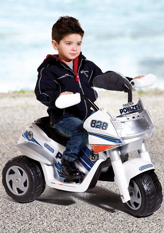 Peg-Pérego Elektrofahrzeug für Kinder »Raider Polizei – 6 Volt«