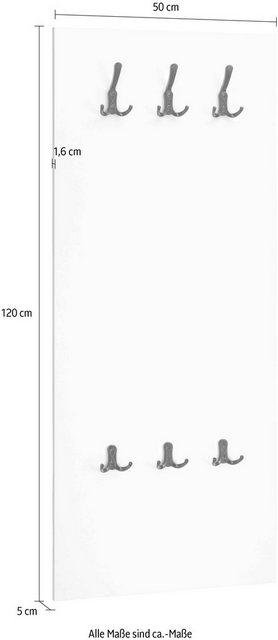 Garderobenleisten und Haken - Wandpaneel »Telo«  - Onlineshop OTTO