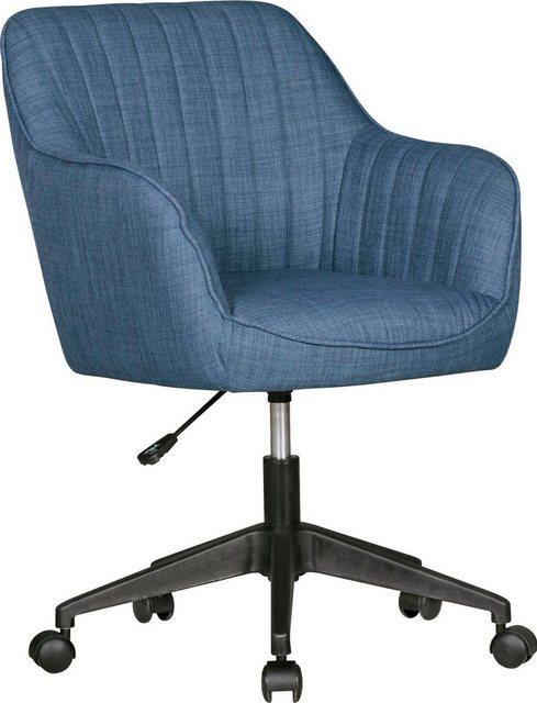 Bürostühle - Amstyle Stuhl »MARA« » blau  - Onlineshop OTTO