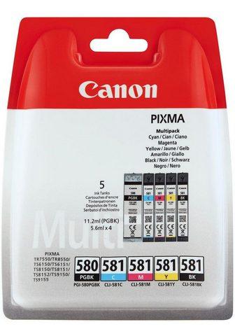 CANON »PGI-580/CLI-581 BK/CMYK Multi Pack 5-...