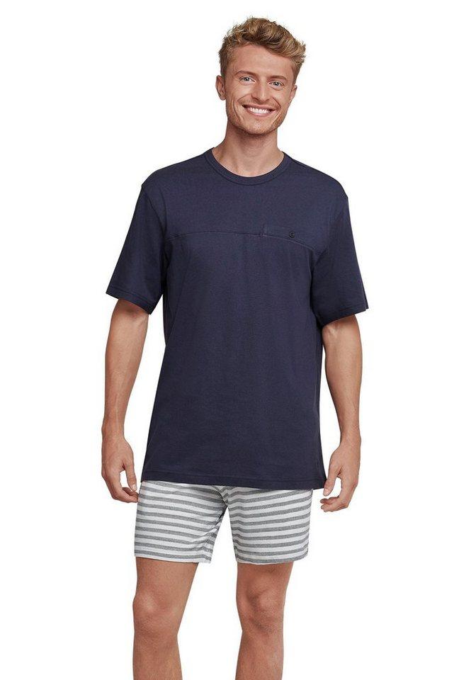 san francisco 73cf0 07e73 Seidensticker kurzer Herren Pyjama - Hose mit Fischgrat-Muster online  kaufen | OTTO