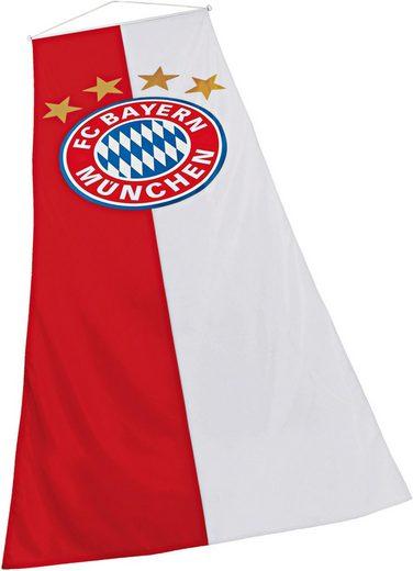 FC Bayern Fahne »FC Bayern Bannerfahne«, für Fahnenmasten